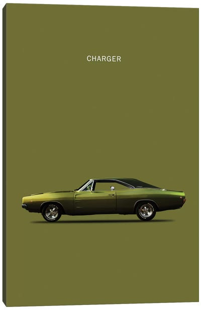 Dodge Charger Canvas Art Print