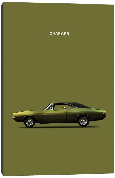 Dodge Charger Canvas Art Print