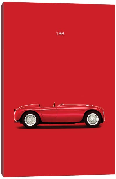 Ferrari 166 Canvas Art Print