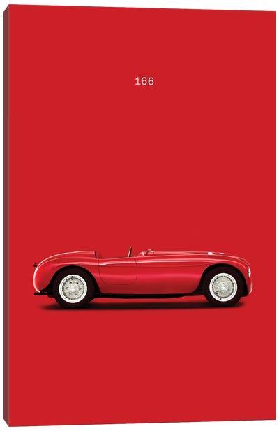 Ferrari 166 Canvas Art Print