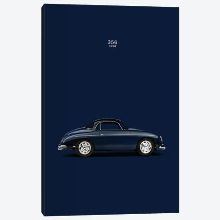 1958 Porsche 356 Canvas Print #RGN12} by Mark Rogan Art Print