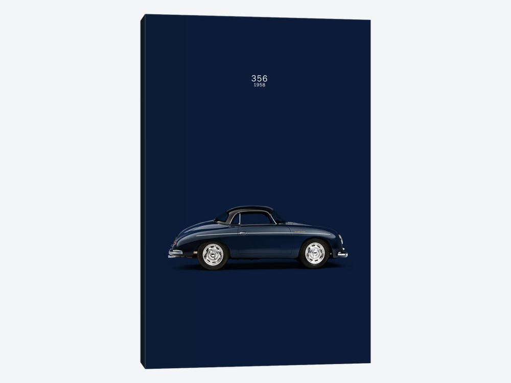 1958 Porsche 356 by Mark Rogan 1-piece Art Print