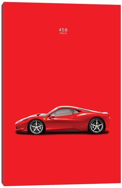 Ferrari 458 Italia Canvas Print #RGN136