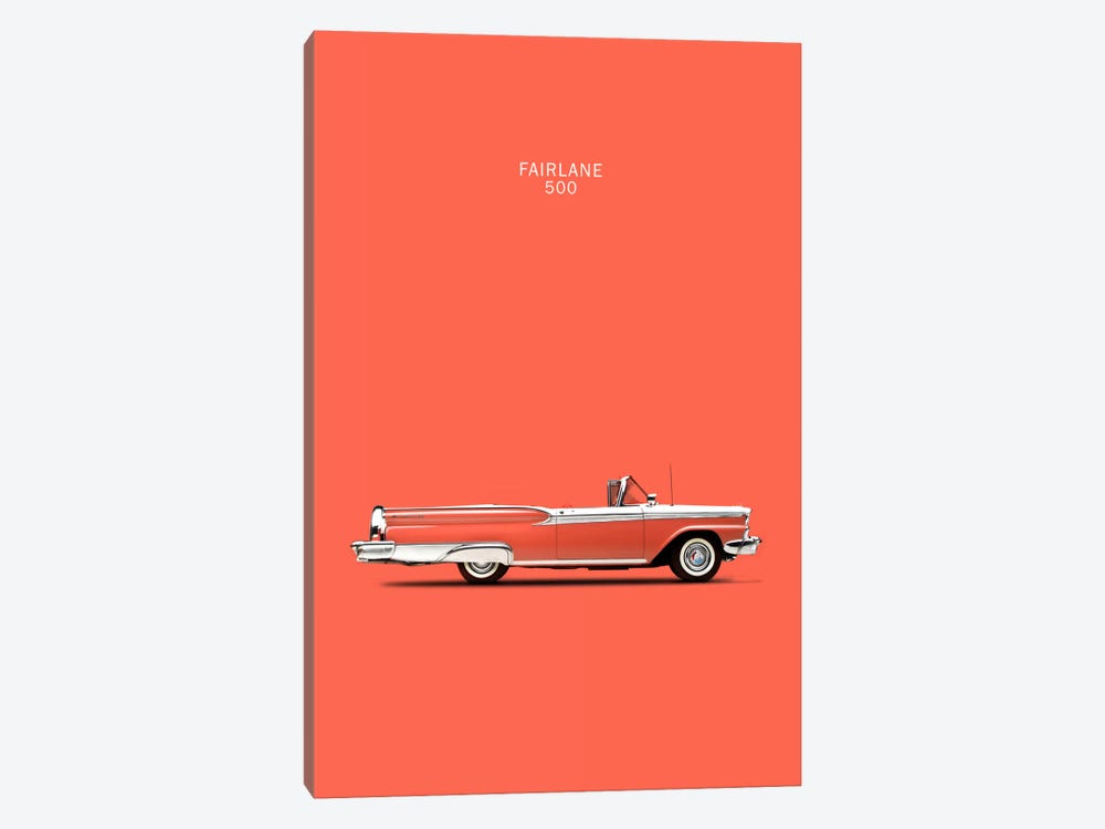 1959 Ford Fairlane 500 by Mark Rogan 1-piece Canvas Wall Art