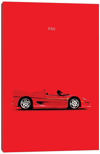 Ferrari F50 Canvas Art Print