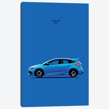 Ford Focus RS Canvas Print #RGN143} by Mark Rogan Canvas Art Print