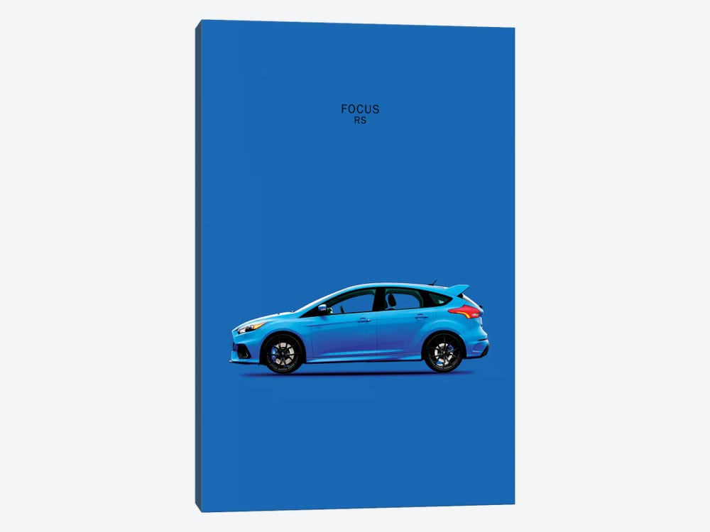 Ford Focus RS by Mark Rogan 1-piece Canvas Art Print