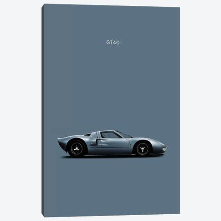 Ford GT40 Canvas Print #RGN144} by Mark Rogan Canvas Artwork