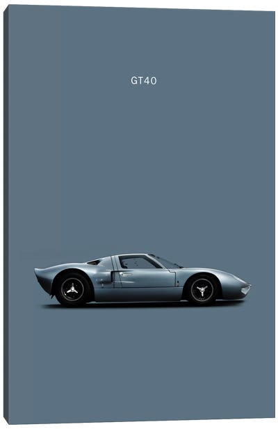 Ford GT40 Canvas Print #RGN144