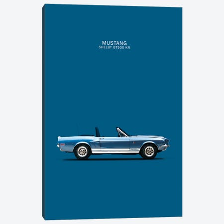 Ford Mustang Shelby GT500-KR Canvas Print #RGN145} by Mark Rogan Canvas Art