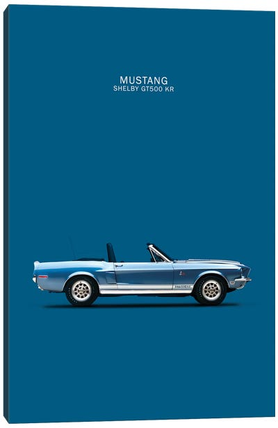 Ford Mustang Shelby GT500-KR Canvas Print #RGN145