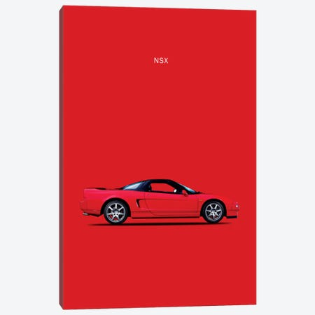 Honda (Acura) NSX Canvas Print #RGN146} by Mark Rogan Canvas Wall Art