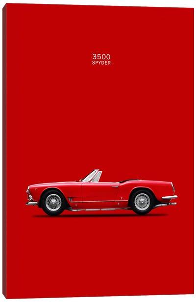 1959 Maserati 3500 GT Spyder Canvas Art Print