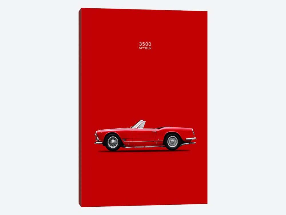 1959 Maserati 3500 GT Spyder by Mark Rogan 1-piece Art Print