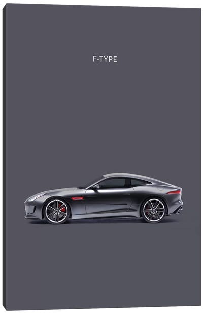 Jaguar F-TYPE Canvas Art Print