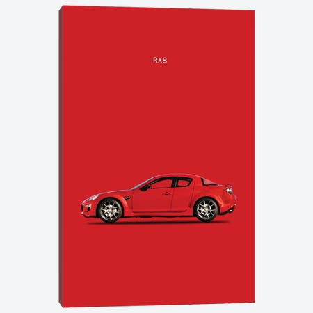 Mazda RX8 Canvas Print #RGN167} by Mark Rogan Canvas Artwork