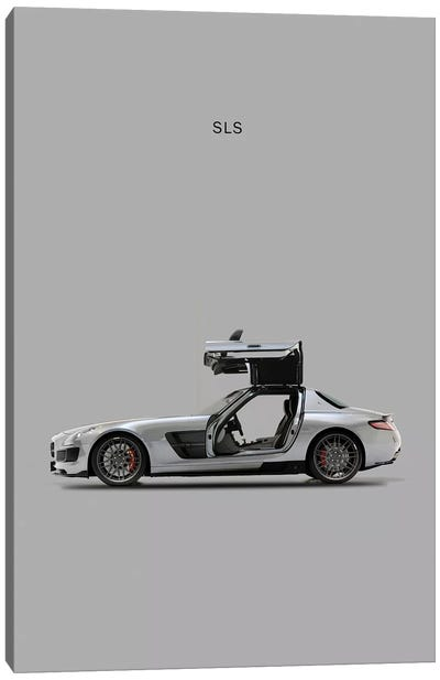 Mercedes-Benz SLS AMG Canvas Print #RGN177