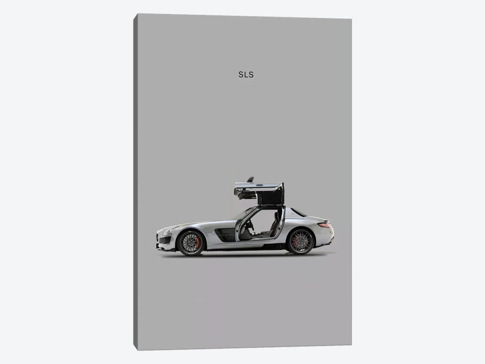 Mercedes-Benz SLS AMG by Mark Rogan 1-piece Canvas Wall Art