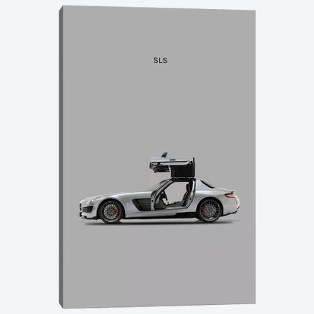 Mercedes-Benz SLS AMG 3-Piece Canvas #RGN177} by Mark Rogan Canvas Art Print