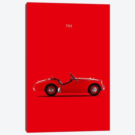 1959 Triumph TR3 Canvas Print #RGN17} by Mark Rogan Canvas Wall Art