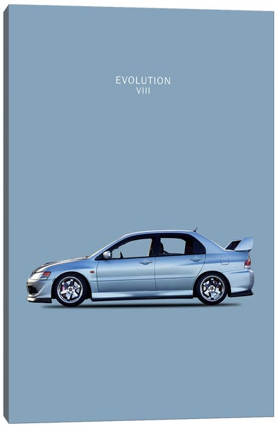 Mitsubishi Lancer Evolution VIII Canvas Print #RGN190