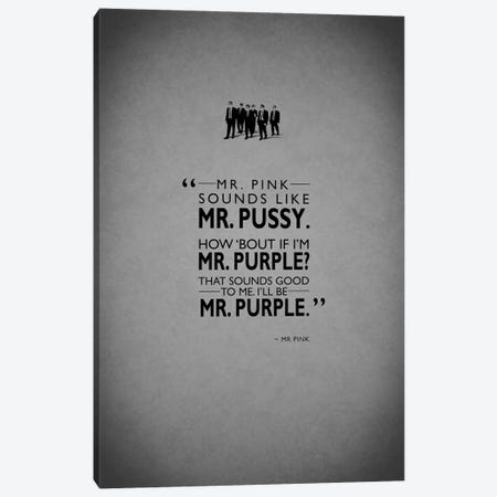 Reservoir Dogs Canvas Print #RGN199} by Mark Rogan Canvas Artwork