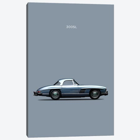 1960 Mercedes-Benz 300 SL Canvas Print #RGN19} by Mark Rogan Canvas Print