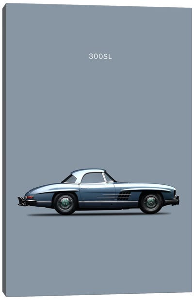 1960 Mercedes-Benz 300 SL Canvas Art Print