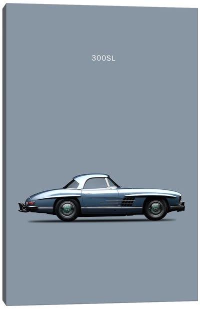 1960 Mercedes-Benz 300 SL Canvas Art Print
