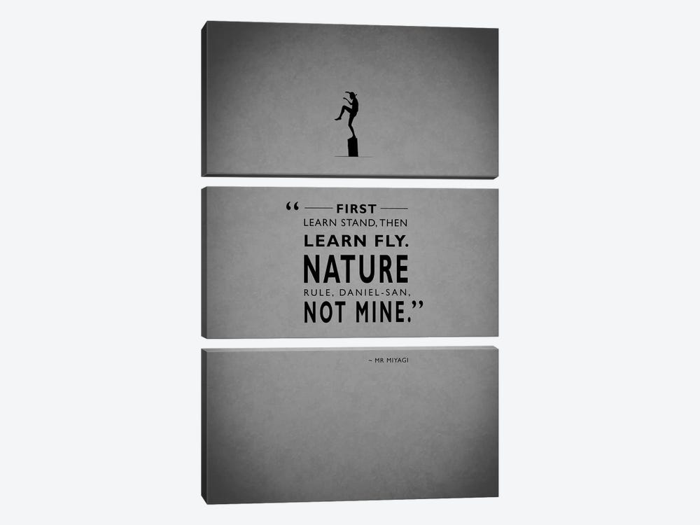 The Karate Kid by Mark Rogan 3-piece Canvas Print