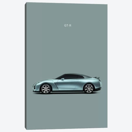 Nissan GT-R Canvas Print #RGN207} by Mark Rogan Canvas Print