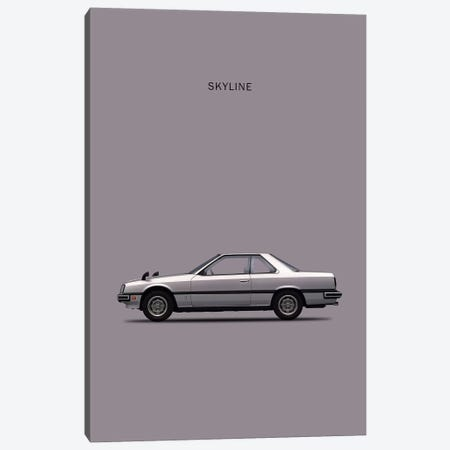 Nissan Skyline 2000GT Canvas Print #RGN208} by Mark Rogan Canvas Artwork