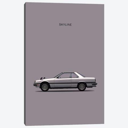 Nissan Skyline 2000GT Canvas Print #RGN208} by Mark Rogan Canvas Artwork