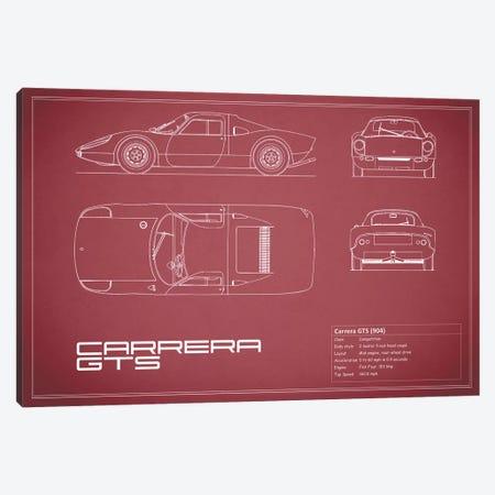 Porsche (904) Carrera GTS (Maroon) Canvas Print #RGN211} by Mark Rogan Art Print