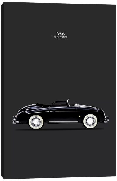 Porsche 356 Speedster Canvas Art Print