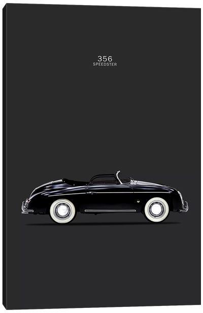 Porsche 356 Speedster Canvas Art Print
