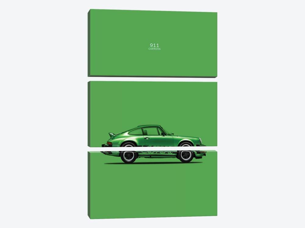 Porsche 911 Carrera by Mark Rogan 3-piece Art Print