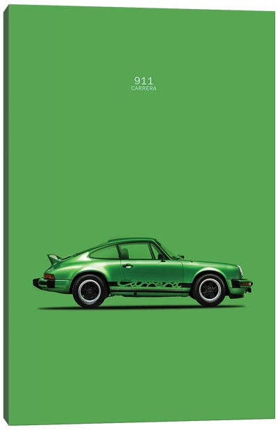 Porsche 911 Carrera Canvas Art Print