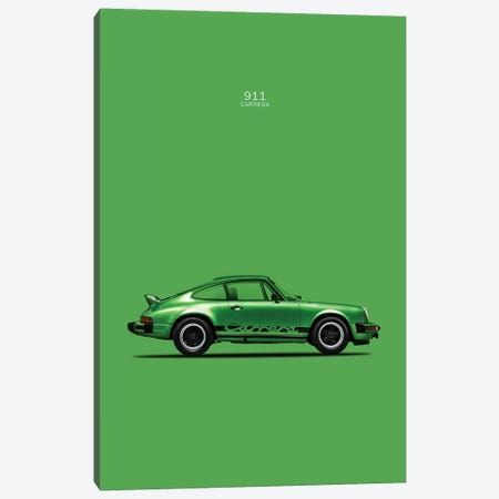 Porsche 911 Carrera Canvas Print #RGN218} by Mark Rogan Art Print