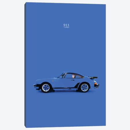 Porsche 911 Turbo Canvas Print #RGN219} by Mark Rogan Canvas Art Print