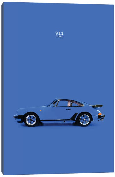 Porsche 911 Turbo Canvas Art Print