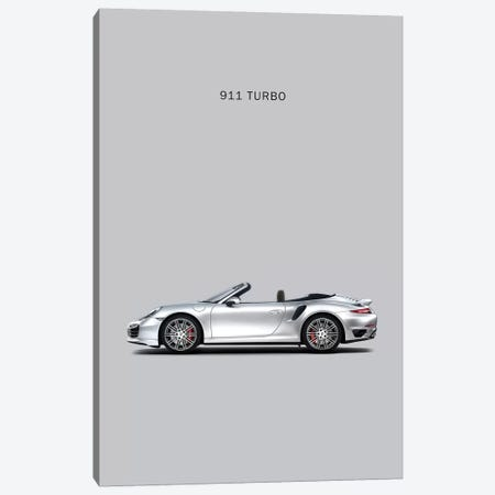 Porsche 911 Turbo Cabriolet Canvas Print #RGN220} by Mark Rogan Canvas Wall Art