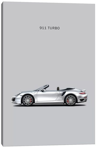 Porsche 911 Turbo Cabriolet Canvas Art Print