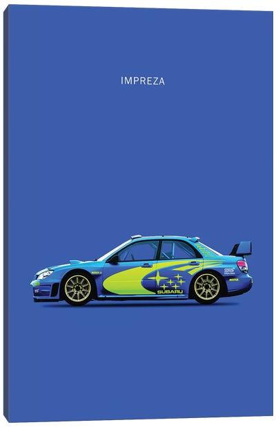 Subaru Impreza Canvas Art Print