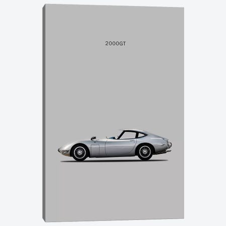 Toyota 2000GT Canvas Print #RGN242} by Mark Rogan Canvas Wall Art