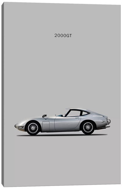 Toyota 2000GT Canvas Art Print