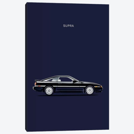 Toyota Supra Turbo Canvas Print #RGN247} by Mark Rogan Canvas Print