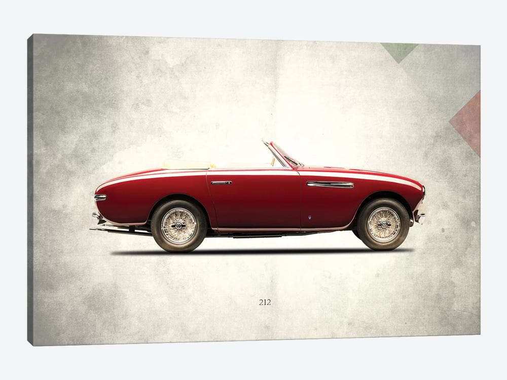 1951 Ferrari 212 by Mark Rogan 1-piece Canvas Artwork
