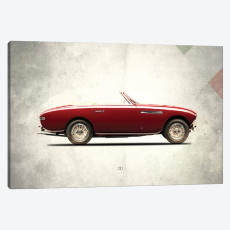 1951 Ferrari 212 Canvas Print #RGN260} by Mark Rogan Canvas Wall Art