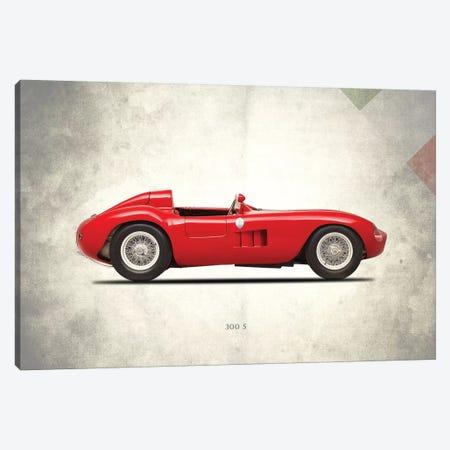 1955 Maserati 300S 3-Piece Canvas #RGN261} by Mark Rogan Canvas Artwork